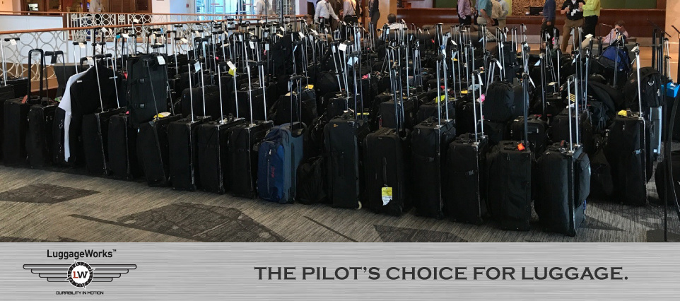 Pilot's Choice for Luggage